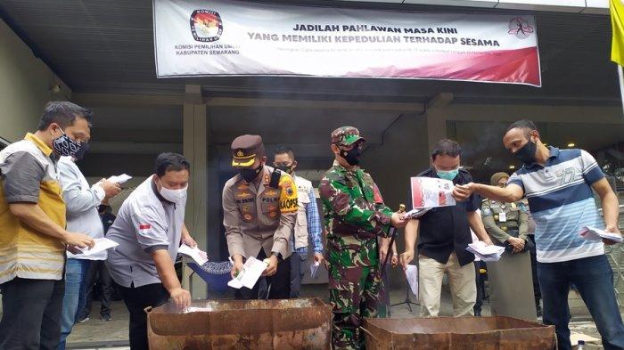 3.518 Surat Suara Dimusnahkan, KPU Kabupaten Semarang: Yang Sisa Juga Turut Dibakar