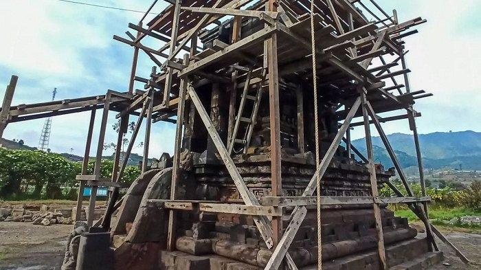 Pemugaran Candi Setyaki Dieng Banjarnegara Hampir Rampung, Siap Dibuka untuk Wisatawan