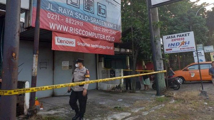 Bobol Toko Komputer di Jalan Solo-Sragen, Pencuri Gasak Uang Rp 12 Juta dan 4 Laptop