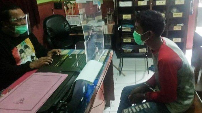 Pemuda Asal Cilacap Ditangkap Polresta Banyumas. Mencuri Sejak 2019, Sasar Sekolah dan Balai Desa