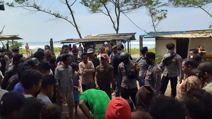AR Terkesan Berbelit Saat Diajak Ngobrol, Kepergok Warga Hendak Curi Motor di Pantai Bopong Kebumen
