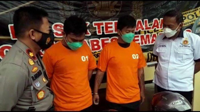 Ini Wajah Dua Pelaku 'Begal' Motor di Tembalang Semarang: Sasar Anak-anak Karena Mudah Diperdaya