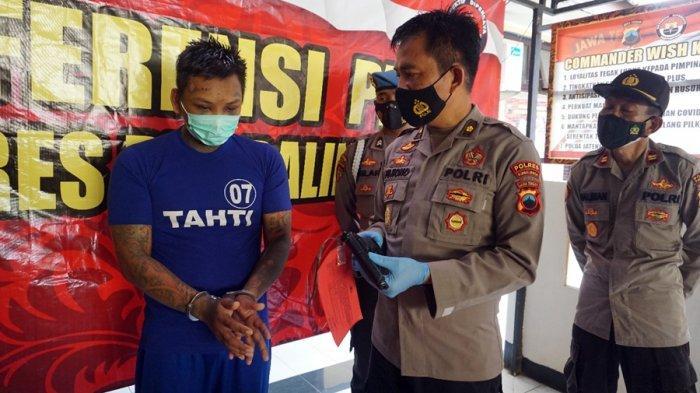 Curi Tanaman Hias di Purbalingga, Pelaku Tembakkan Air Softgun Saat Ditangkap, Seorang Warga Terluka