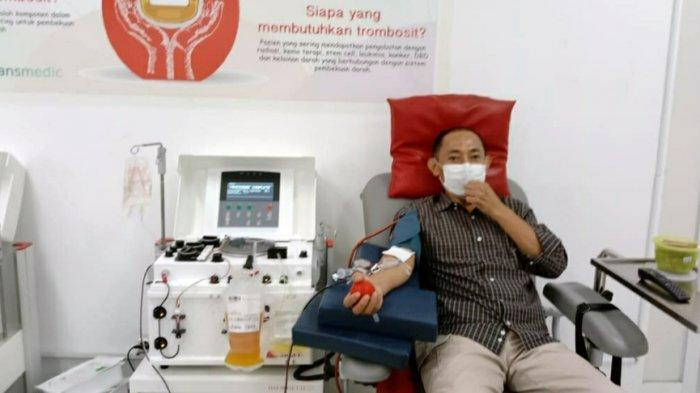 Pak Muh Namanya, Purnawirawan Polisi Asal Semarang Ini Sudah 12 Kali Donor Plasma Konvalesen