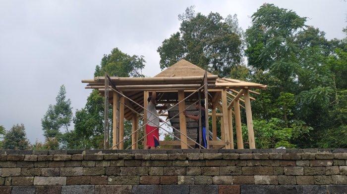 13 Pendopo Kompleks Candi Cetho Karanganyar Dipugar, Target Selesai Desember 2020