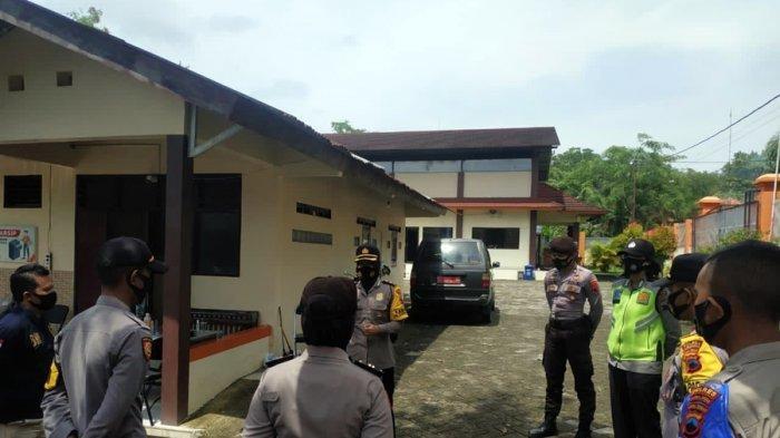 Pelipatan Surat Suara Mulai Dilakukan, Polres Purbalingga Perketat Pengamanan Kantor KPU