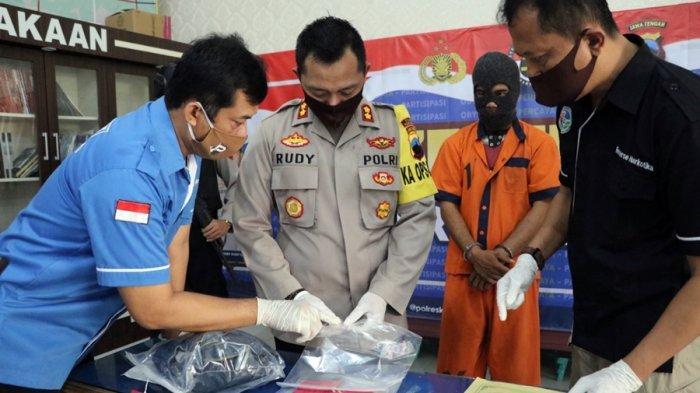 Pengguna Sabu Ditangkap, Polres Kebumen Cium Indikasi Peredaran Narkoba Lintas Provinsi