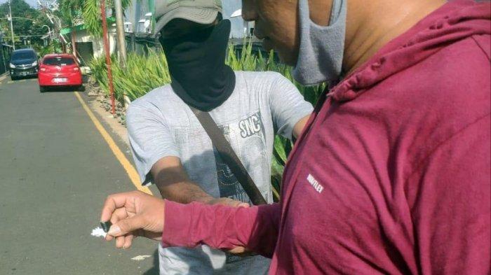 Ajak Istri Ambil Pesanan Sabu, Pekerja Serabutan di Semarang Ini Tak Sadar Dibuntuti Polisi