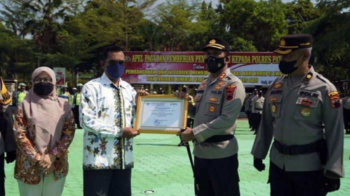 Hasil Survei Uniba Surakarta, Layanan Masuk Kategori Excellent, Polres Pati Diganjar Penghargaan