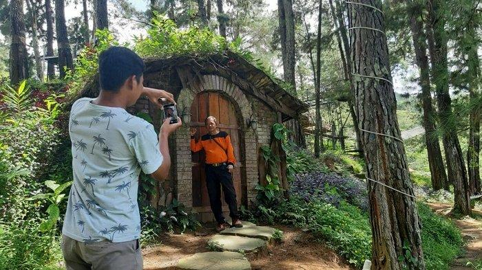 Akibat Jalan Ambles, Pengunjung Clirit View di Kalibakung Tegal Hanya 10 Orang Per Hari
