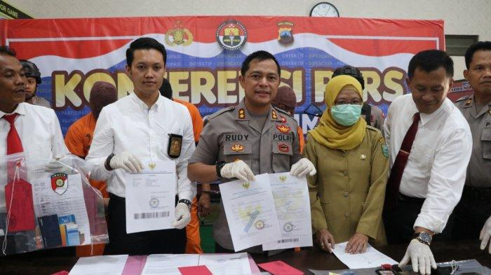 'Yang Mulia' Ketua Komplotan Penipu Antarpula Berkedok Loloskan CPNS Diringkus Polres Kebumen