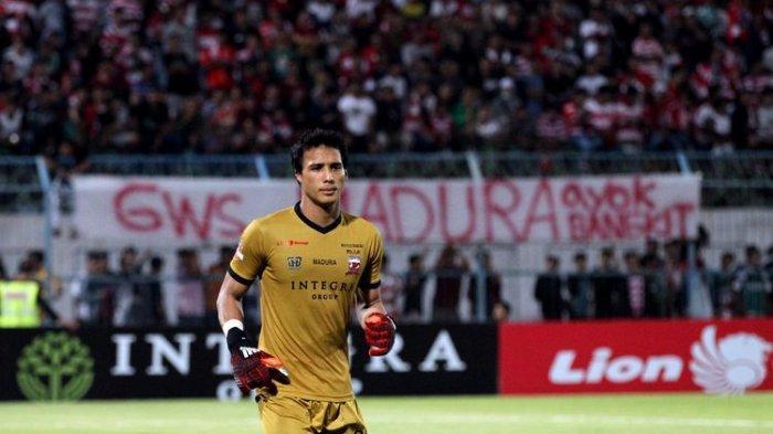 Tidak Ada Nama Bruno Silva Dalam Daftar Striker Berbahaya Versi Penjaga Gawang Madura United