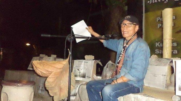 KABAR DUKA, Sastrawan Umbu Landu Paranggi Tutup Usia