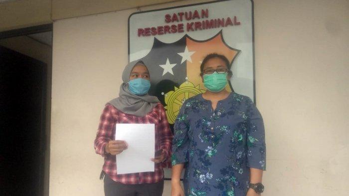 Sebar Hoaks Virus Corona, Wanita Ini Datangi Polrestabes Semarang, Sampaikan Permintaan Maaf
