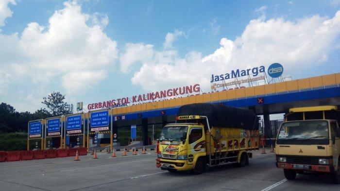 Hadapi Peningkatan Volume Kendaraan, Gardu di Gerbang Tol Kalikangkung Semarang Ditambah