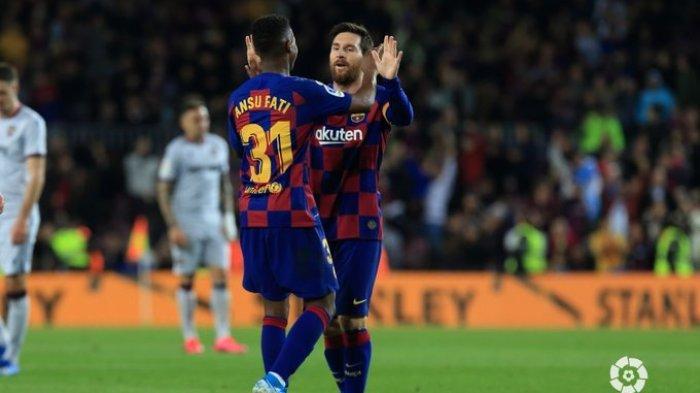 Sebelum Pertandingan Napoli vs Barcelona, Para Pemain El Barca Harus Jalani Tes Virus Corona