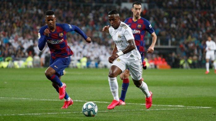 El Clasico Madrid vs Barcelona 2-0: Tuah Setien Tak Mempan, El Barca Kocar-kacir di Kandang Madrid