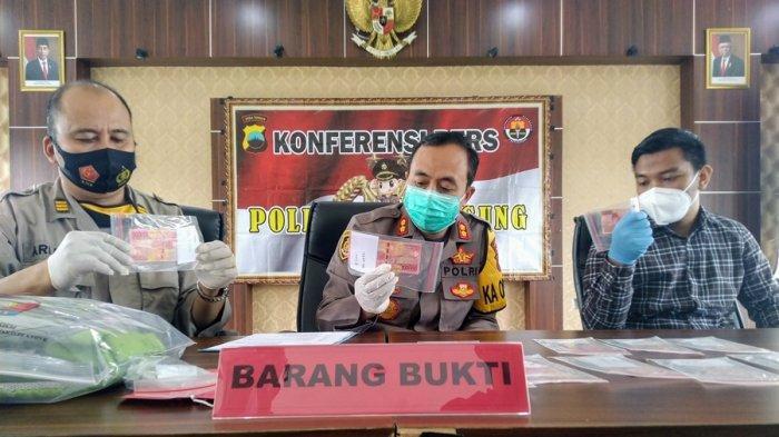 Fendi Warga Wonosobo Ini Miliki Uang Palsu Senilai Rp 21,4 Juta, Ditangkap di Parakan Temanggung