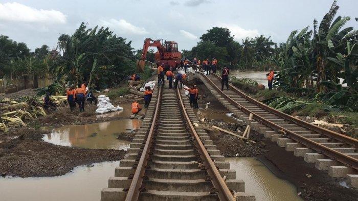 Perbaikan Jalur Rampung, Kereta Api Jarak Jauh Dari dan Menuju Jakarta Sudah Beroperasi Lagi