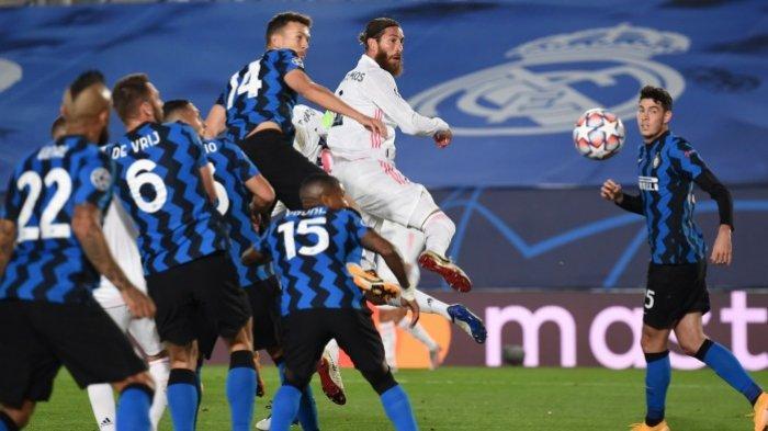Unggul Tipis 3-2 dari Inter Milan, Real Madrid Naik Peringkat Dua di Grub B Liga Champios