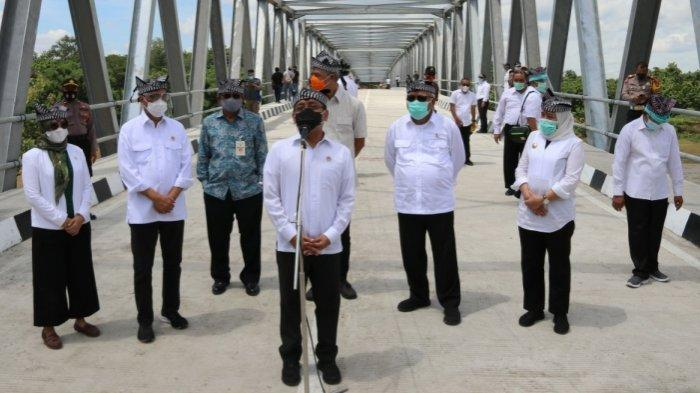 Tak Lagi Pakai Perahu, Akses Blora-Bojonegoro Lewat Kradenan Kini Lebih Mudah Lewat Jembatan TBB