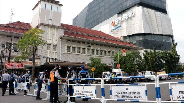 Personel Gabungan Bakal Patroli 2x Sehari selama PPKM di Kota Semarang, Ini Jadwalnya