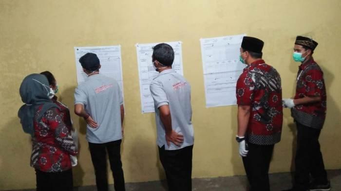 Hasil Pilkada Semarang 2020: Bintang-Gunawan Keok di TPS 4 Getasan, 100% Suara Milik Ngesti-Basari