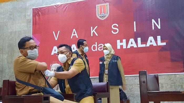 73.446 Orang Terima Vaksin Covid-19 Tahap Kedua, Wali Kota Semarang: Sudah Over Target