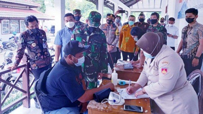 Sumbang 10 Ribu Vaksin Sinovac, Bais TNI Ingin Target Vaksinasi Covid di Wonosobo segera Tercapai