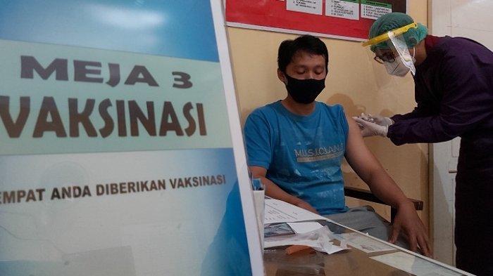 Jumlah Vaksin Terbatas, Vaksinasi Covid bagi Pedagang di Kota Pekalongan Hanya untuk Tiga Pasar