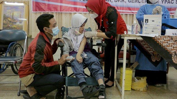 Difabel di Kota Semarang Mulai Terima Vaksin Covid, Dimulai dari 97 Siswa YPAC