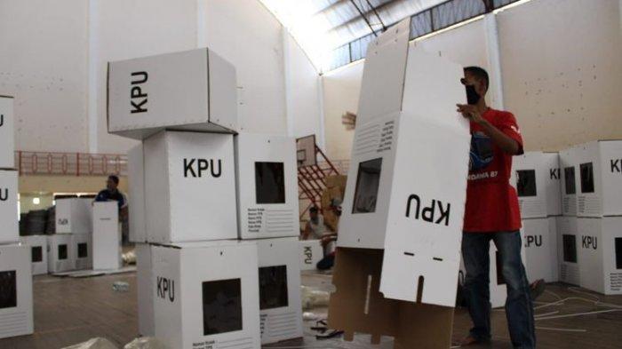 KPU Kabupaten Semarang Targetkan Perakitan 2.249 Kotak Suara Rampung dalam 3 Hari