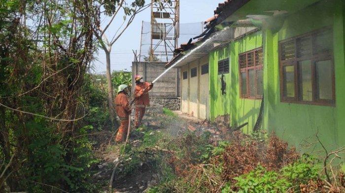 3 Ruangan di SMP Negeri 3 Kaliwungu Kendal Terbakar, PTM Terbatas Jalan Terus