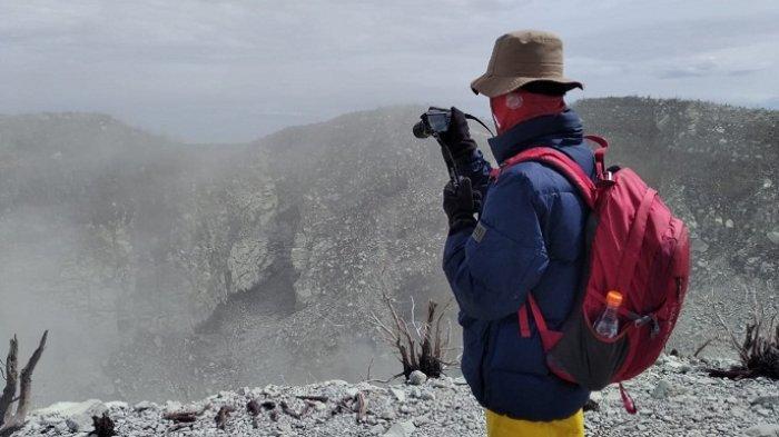 Gemuruh Masih Terdengar dari Kawah Gunung Sindoro, Bupati Temanggung Minta Warga Tetap Siaga