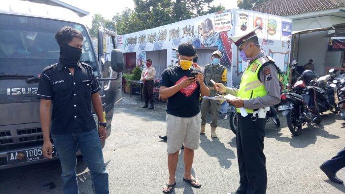 Masih Ada Travel Gelap Angkut Pemudik ke Jakarta, Satlantas Polresta Banyumas Lakukan Penyisiran