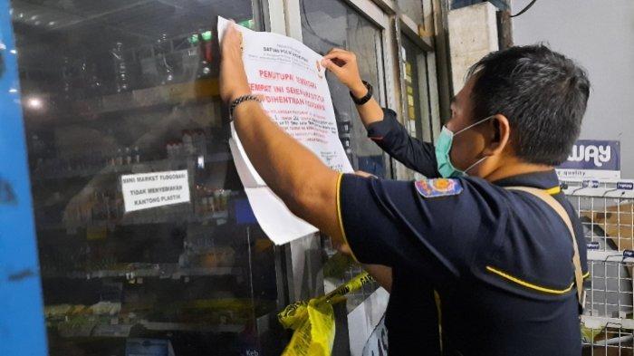 Langgar Jam Malam PPKM, 3 Tempat Usaha di Kota Semarang Disegel Sementara