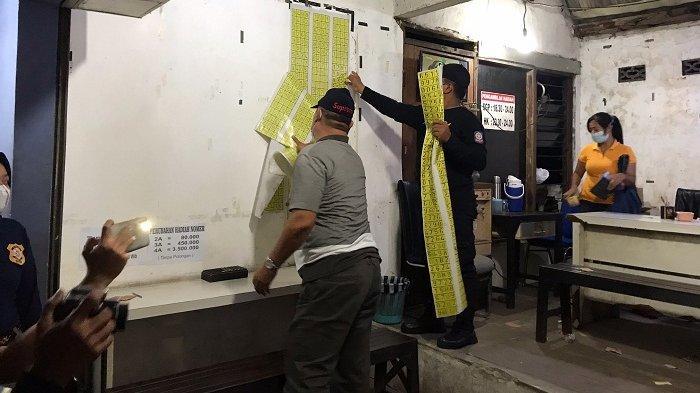 Kios Judi Togel Menjamur di Candisari Kota Semarang, Satpol PP Turun Tangan