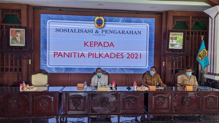 Bupati Haryanto: Jangan Sampai Pilkades Serentak Justru Timbulkan Klaster Baru Covid-19 di Pati