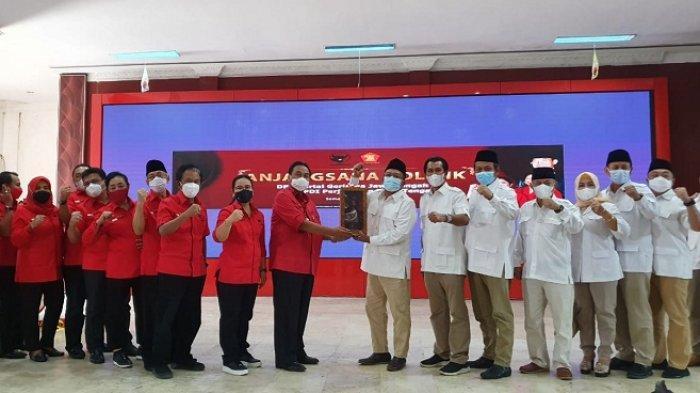 Gerindra dan PDIP Jateng Bertemu di Tengah Kabar Prabowo-Puan Maju di Pilpres 2024, Ini yang Dibahas