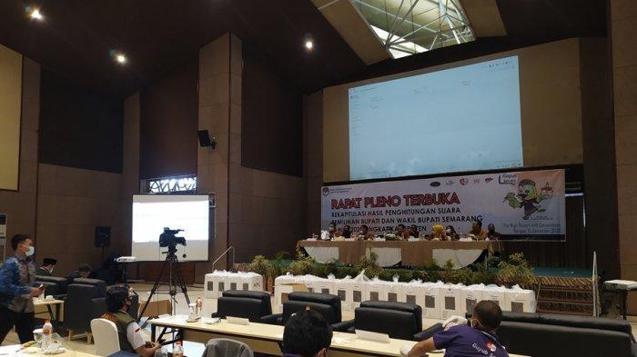 Hasil Rekapitulasi Suara Pilkada Kabupaten Semarang: Paslon Ngebas Dipastikan Ungguli Bison