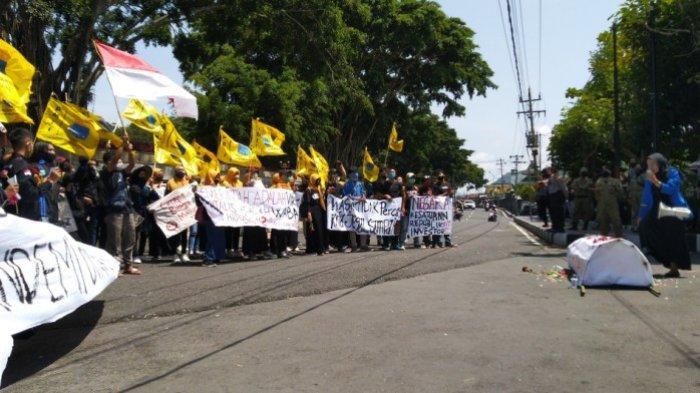 Sampaikan 5 Sikap saat Demo Tolak UU Cipta Kerja, PMII Temanggung Dijanjikan Ini dari Ketua DPRD