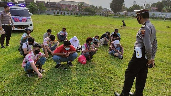 13 Pelajar Diamankan, Berniat Konvoi Kelulusan di Wilayah Banyumas