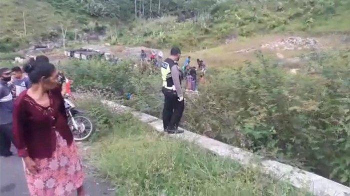 Diduga Motor Alami Rem Blong - Berikut Cerita Saksi Kecelakaan Maut di Kalibening Banjarnegara