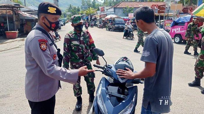 Dukung Percepatan Zero Kasus Covid, Polres Kebumen Gencarkan Operasi Yustisi di setiap Kecamatan