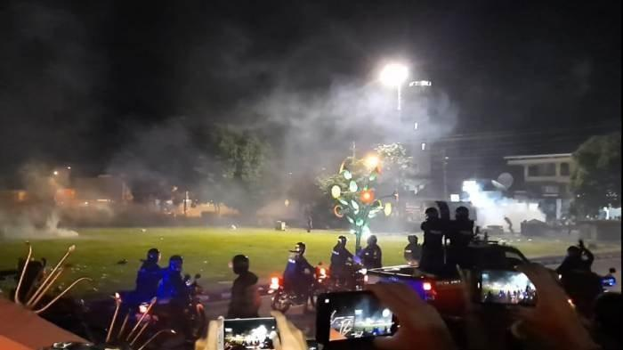 5 Demonstran Penolak UU Cipta Kerja di Purwokerto Dipulangkan setelah Dijemput Orangtua