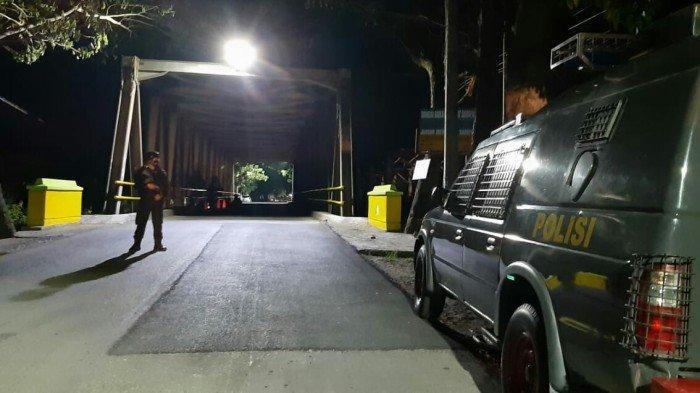 10 Granat Nanas Diduga Aktif Ditemukan di Bawah Jembatan Kagok Slawi Tegal