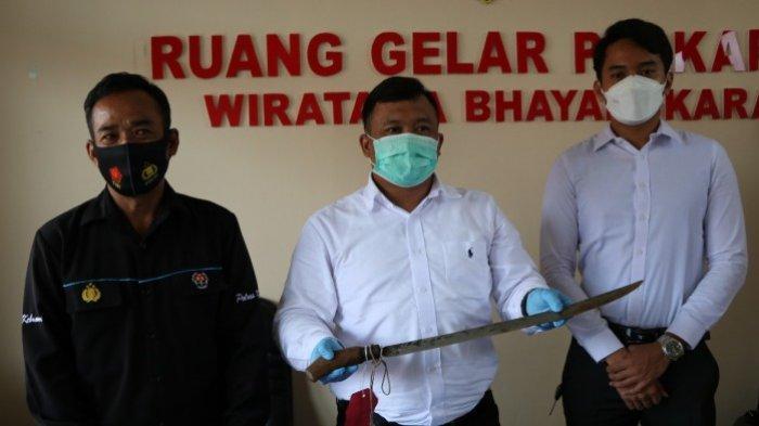 Brutal, Ibu dan Balita di Karangsari Kebumen Ditebas Pedang Tetangga hingga Balita Kehilangan Jari