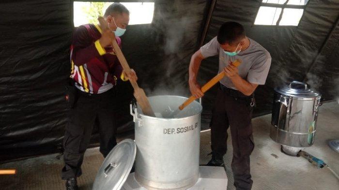 Polres Purbalingga Bangun Dapur Umum, Pasok Makanan untuk Siswa Mrebet yang Jalani Isolasi Terpusat