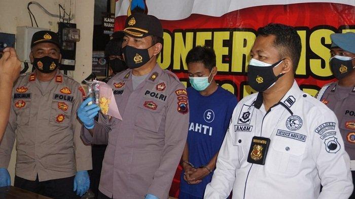 Polisi Amankan Buruh di Purbalingga. Saat Digeledah, Ada 25 Paket Hexymer Siap Edar