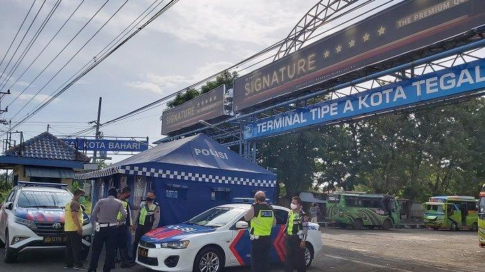 PSBB Kota Tegal Dilonggarkan Namun Bus AKAP Tetap Tidak Tampak di Terminal Kota